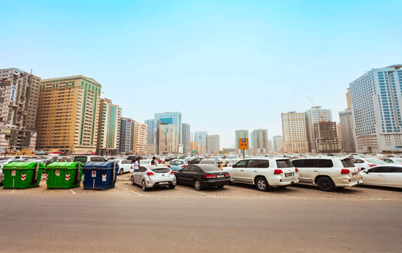 What are parking timing in Dubai, Abu Dhabi and Sharjah