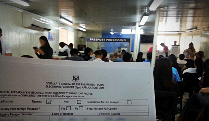 How to Renew Philippines passport in Dubai