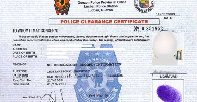 How to get police clearance in Dubai?