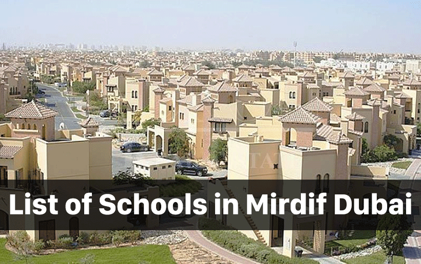 List of Schools in Mirdif Dubai