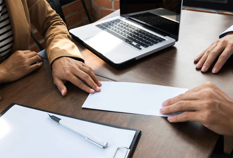 How to write a resignation letter in the UAE