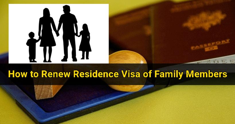 Uae Family Visa Renewal Dubai Busy Dubai