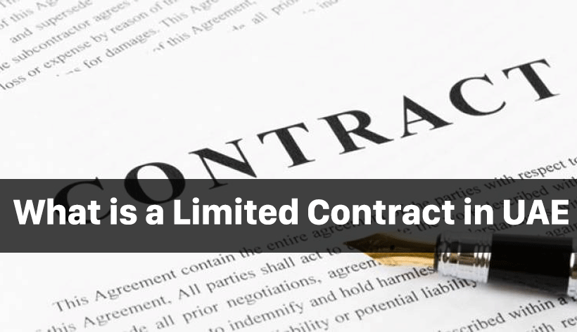 What is a Limited Contract in UAE