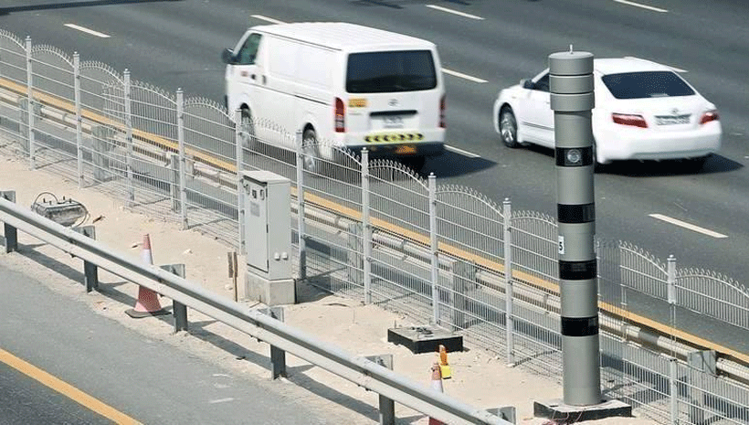 traffic fine in uae