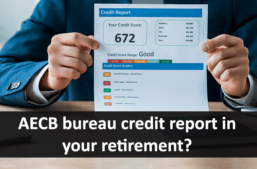 How important is the AECB bureau credit report in your retirement?