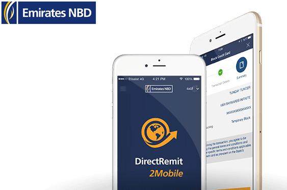 Emirates NBD Direct Remit and International Transfer