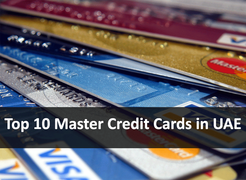 Top 10 Master Credit Cards in UAE