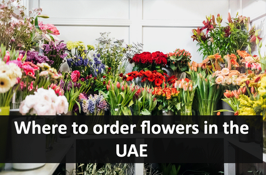 Where to order flowers in the UAE