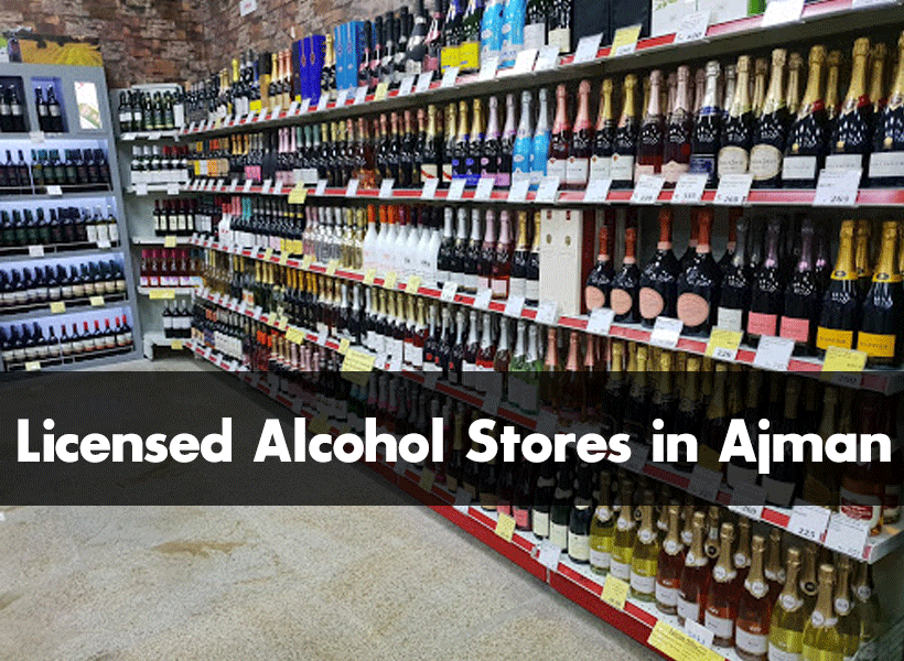 licensed alcohol stores in Ajman