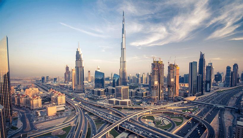 Dubai Famous Building