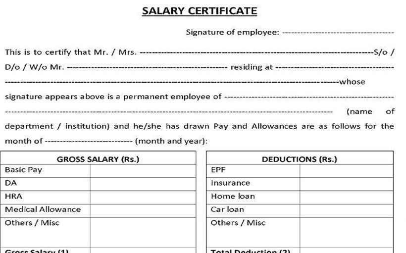 Salary Slip UAE